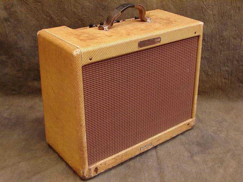 Fender deluxe своими руками