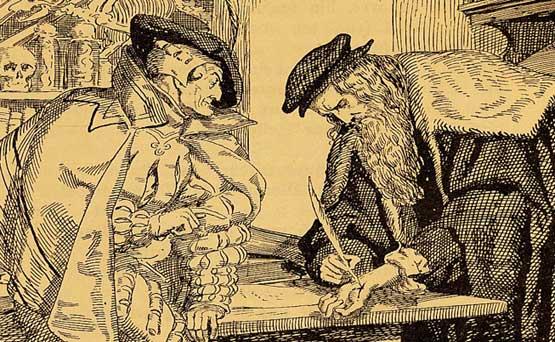 Mefistófoles e Fausto