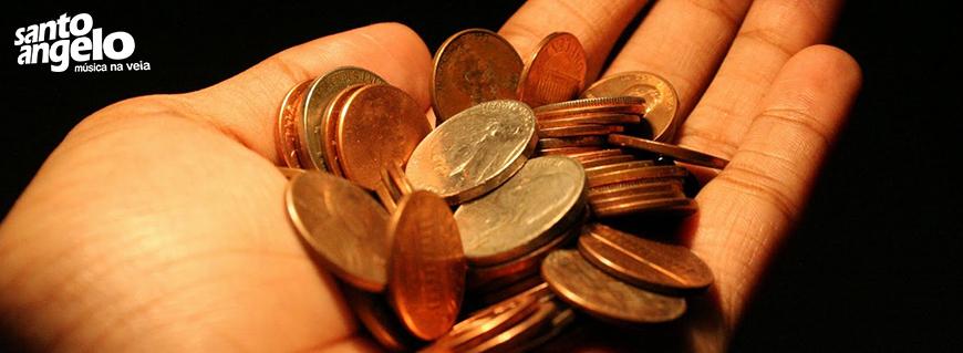 BANNER - Contando moedas