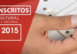 Inscritos - Concurso Cultural Vinhetas
