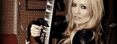 Christina Hudson – Guitar Tech – Los Angeles-EUA