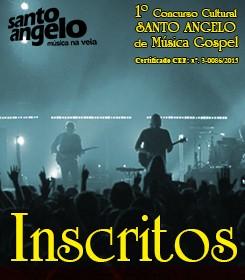 Capa postagem - Inscritos - Concurso Gospel