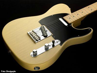Guitarra protegida - telecaster