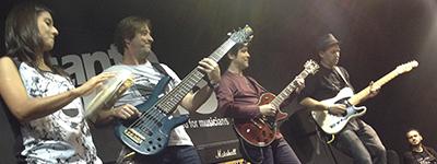 Se repete o sucesso da Expomusic 2014 com Luciano Magno e Duca Belintani.