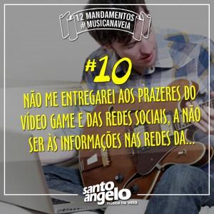 Mandamentos - 10 - Redes sociais