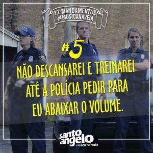 Mandamentos - 5 Policia