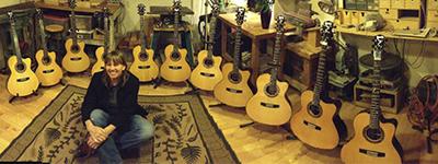 Linda Manzer – Luthier – Canadá