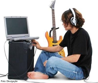 Tocar guitarra - imagem 2 home studio ok